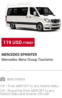 Baku Transfer: Mercedes Sprinter